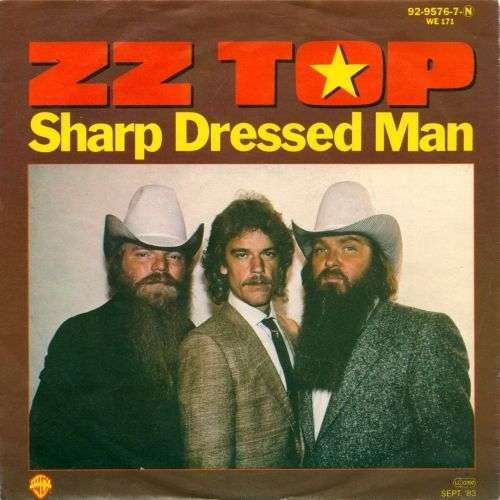 Coverafbeelding Sharp Dressed Man - Zz Top