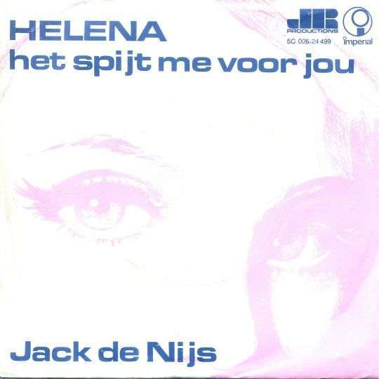 Coverafbeelding Helena - Jack De Nijs