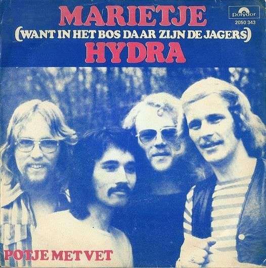 Coverafbeelding Hydra - Marietje (Want In Het Bos Daar Zijn De Jagers)