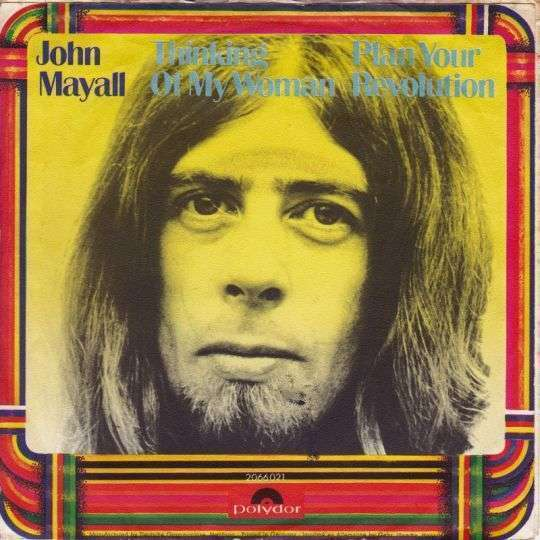 Coverafbeelding Thinking Of My Woman - John Mayall