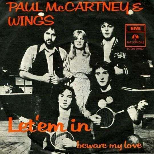 Coverafbeelding Let'em In - Paul Mccartney & Wings
