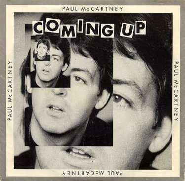 Coverafbeelding Coming Up - Paul Mccartney