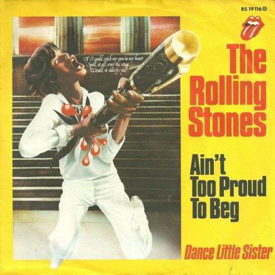 Coverafbeelding Ain't Too Proud To Beg - The Rolling Stones