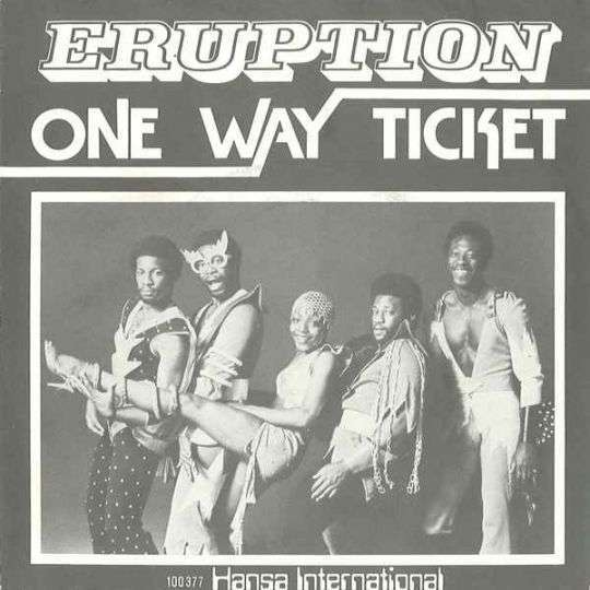 Coverafbeelding One Way Ticket - Eruption