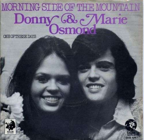 Coverafbeelding Morning Side Of The Mountain - Donny & Marie Osmond