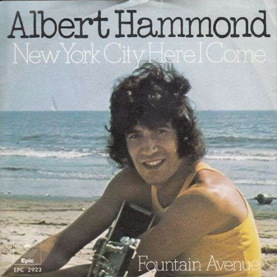 Coverafbeelding New York City Here I Come - Albert Hammond
