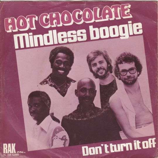 Coverafbeelding Mindless Boogie - Hot Chocolate