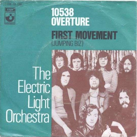 Coverafbeelding 10538 Overture - The Electric Light Orchestra