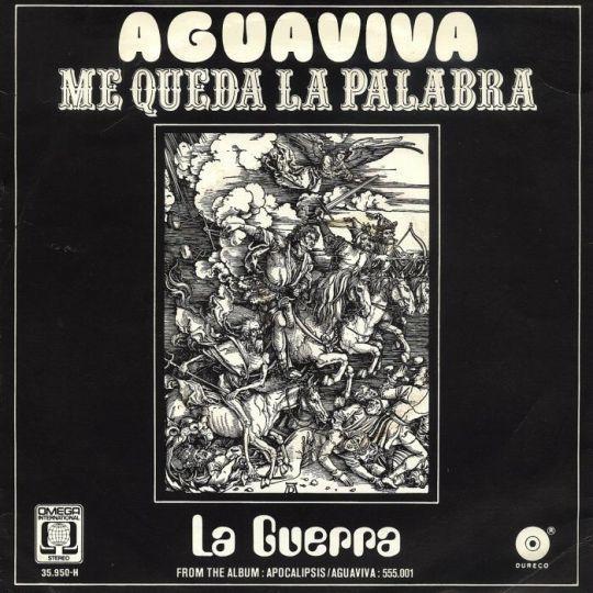 Coverafbeelding Me Queda La Palabra - Aguaviva