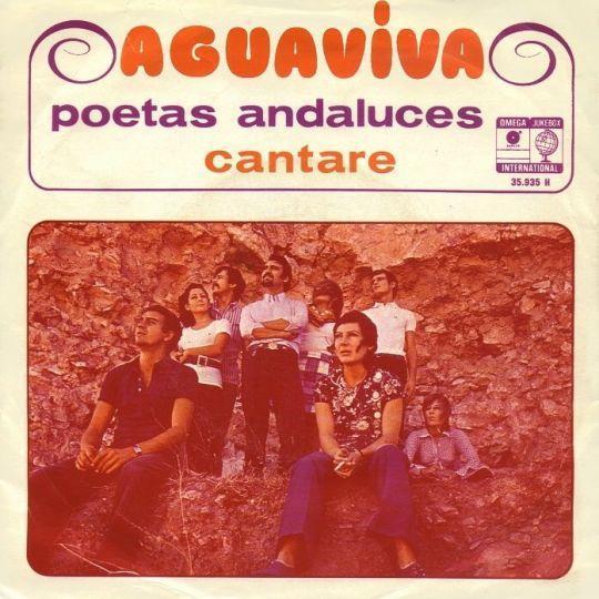 Coverafbeelding Aguaviva - Poetas Andaluces