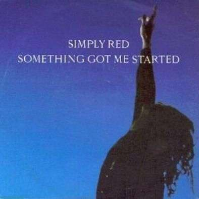 Coverafbeelding Simply Red - Something Got Me Started