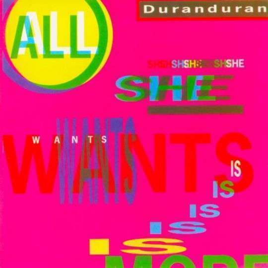 Coverafbeelding All She Wants Is - Duranduran