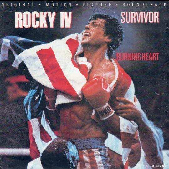 Coverafbeelding Survivor - Burning Heart