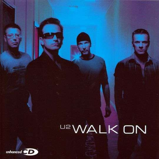 Coverafbeelding Walk On - U2