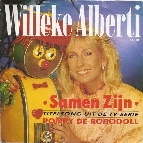 Coverafbeelding Samen Zijn - Titelsong Uit De Tv-serie Pompy De Robodoll - Willeke Alberti