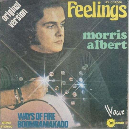 Coverafbeelding Morris Albert - Feelings