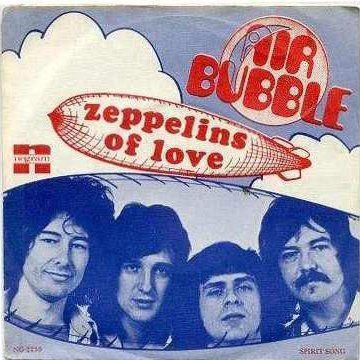Coverafbeelding Air Bubble - Zeppelins Of Love