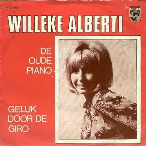 Coverafbeelding De Oude Piano - Willeke Alberti
