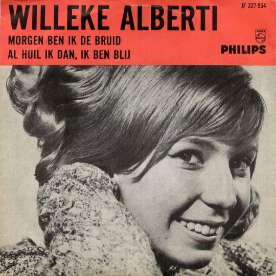 Coverafbeelding Morgen Ben Ik De Bruid - Willeke Alberti