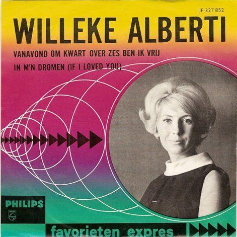 Coverafbeelding Vanavond Om Kwart Over Zes Ben Ik Vrij - Willeke Alberti