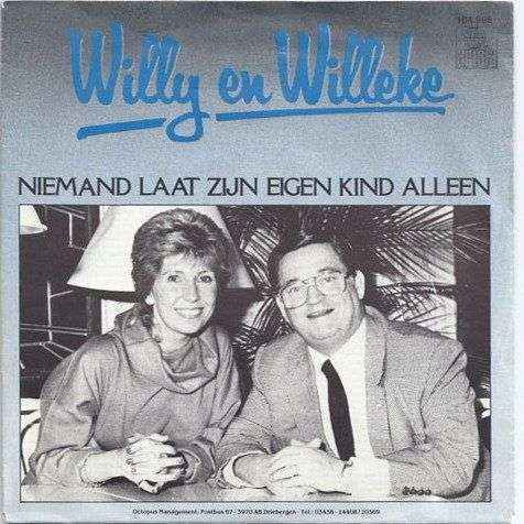 Coverafbeelding Niemand Laat Zijn Eigen Kind Alleen - Willy En Willeke