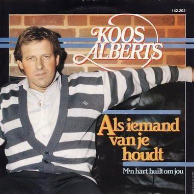 Coverafbeelding Als Iemand Van Je Houdt - Koos Alberts