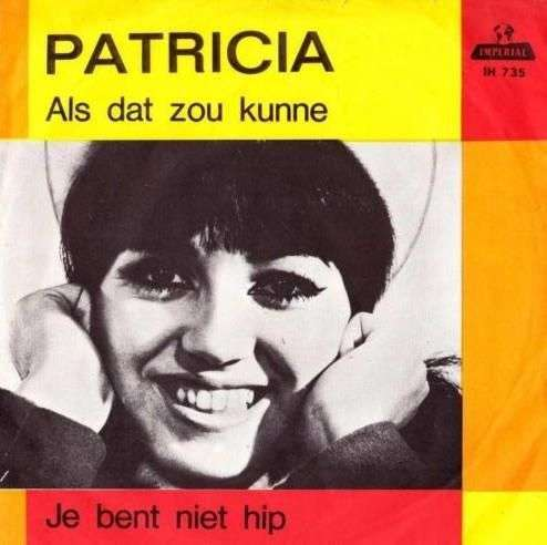 Coverafbeelding Je Bent Niet Hip - Patricia