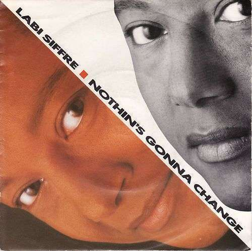 Coverafbeelding Nothin's Gonna Change - Labi Siffre