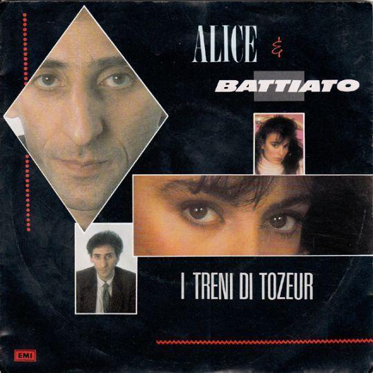 Coverafbeelding Alice & Battiato - I Treni Di Tozeur