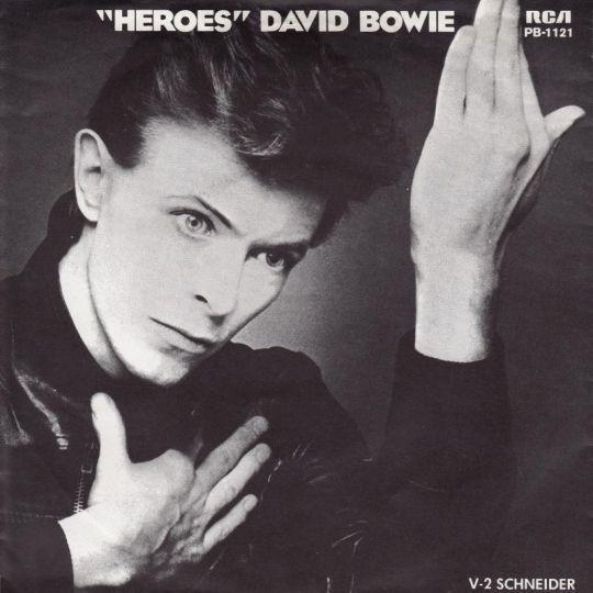 Coverafbeelding David Bowie - Heroes