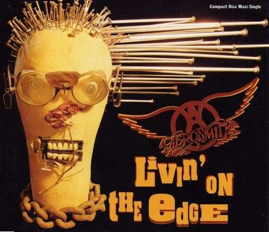 Coverafbeelding Livin' On The Edge - Aerosmith