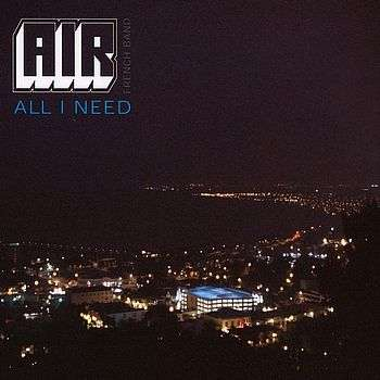 Coverafbeelding Air - All I Need