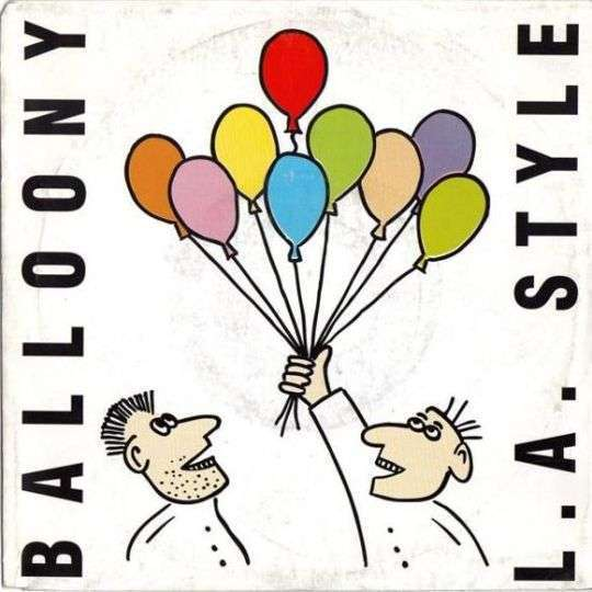 Coverafbeelding L.A. Style - Balloony