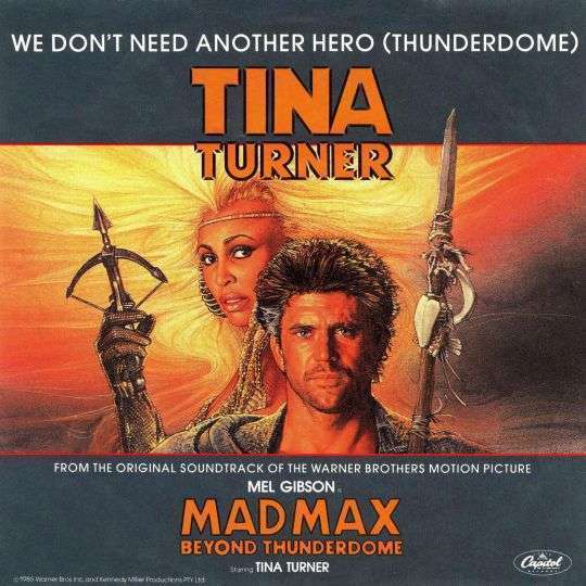 Coverafbeelding We Don't Need Another Hero (Thunderdome) - Tina Turner