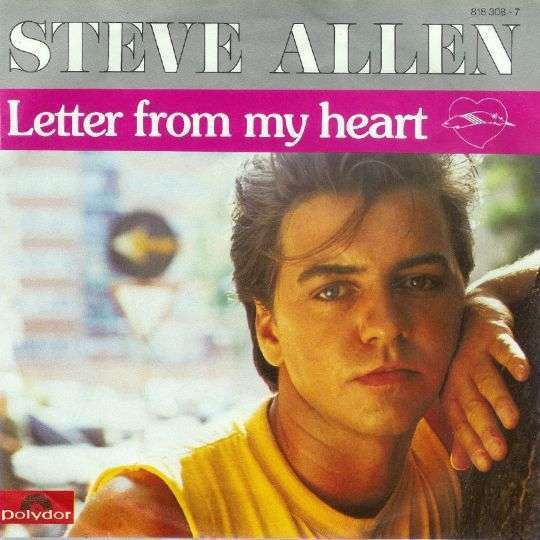 Coverafbeelding Letter From My Heart - Steve Allen