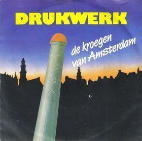 Coverafbeelding De Kroegen Van Amsterdam - Drukwerk