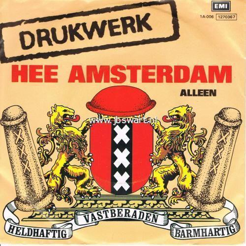 Coverafbeelding Hee Amsterdam - Drukwerk