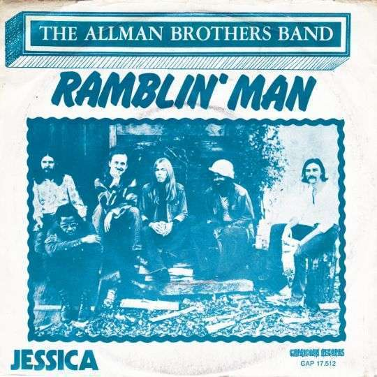 Coverafbeelding Ramblin' Man - The Allman Brothers Band
