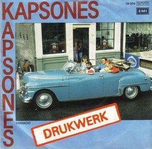Coverafbeelding Kapsones - Drukwerk