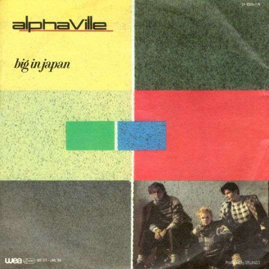 Coverafbeelding Big In Japan - Alphaville