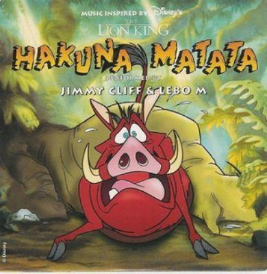 Coverafbeelding Hakuna Matata - Jimmy Cliff & Lebo M