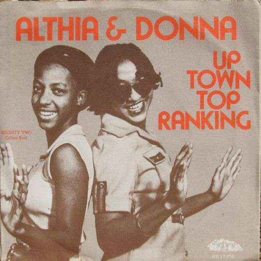 Coverafbeelding Althia & Donna - Up Town Top Ranking