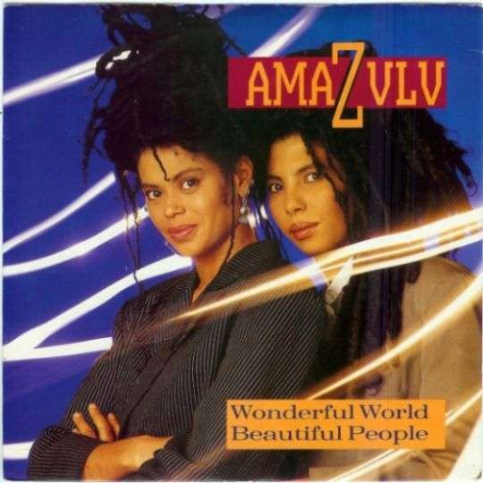 Coverafbeelding Wonderful World Beautiful People - Amazulu