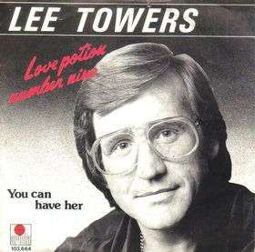 Coverafbeelding Love Potion Number Nine - Lee Towers