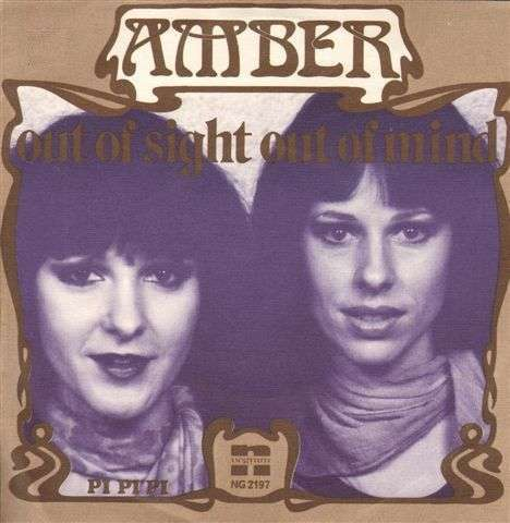 Coverafbeelding Amber ((1977)) - Out Of Sight Out Of Mind