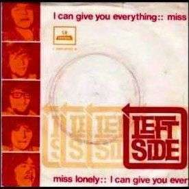 Coverafbeelding I Can Give You Everything - Left Side