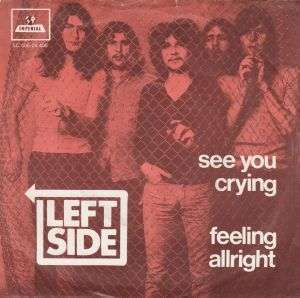 Coverafbeelding See You Crying/ Feeling Allright - Left Side