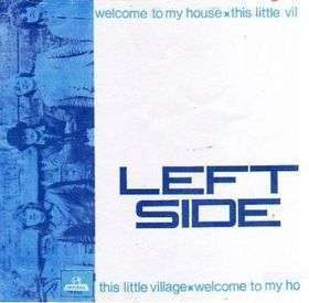 Coverafbeelding Welcome To My House - Left Side