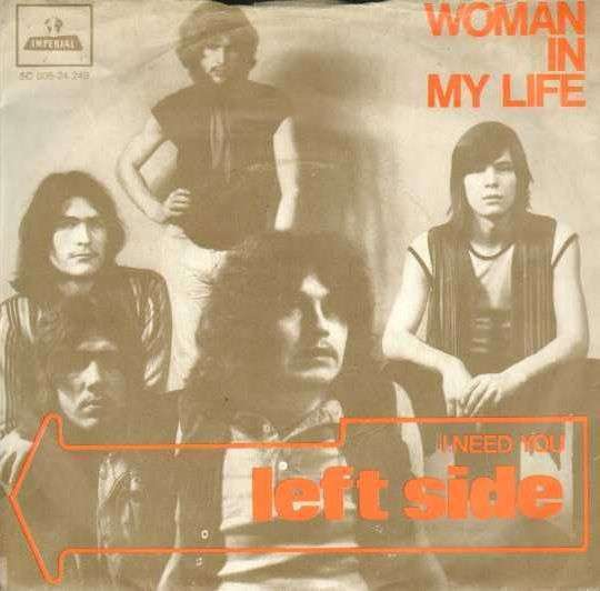 Coverafbeelding Woman In My Life - Left Side