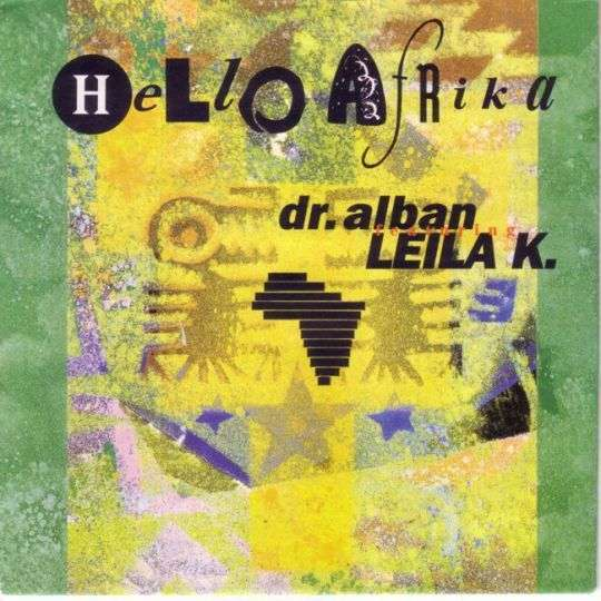 Coverafbeelding Hello Afrika - Dr. Alban Featuring Leila K.